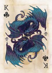 King of clubs by Nimphradora
