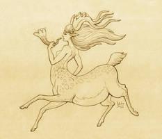 Centaur lady by Nimphradora