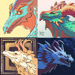 Dragon icons by Nimphradora
