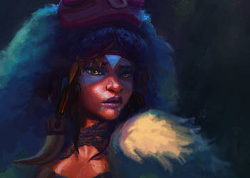 Mononoke Hime - Princess Of The Plains by Nimphradora