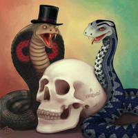 Consulting Serpents by Elusive-Angel