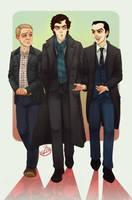 Commish: Baker Street BAMFS by Elusive-Angel