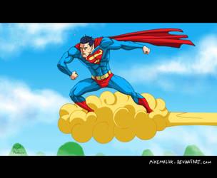 Super Dragon Man Ball  Z by mikemaluk
