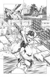 Nightwing#22 Page 17 by mikemaluk