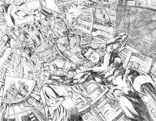 Nightwing#24 Page 2-3 by mikemaluk
