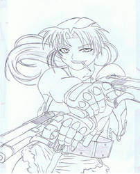 Black Lagoon - Revy by LilFreak3110