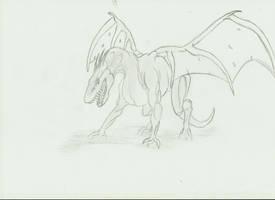 Evolution -- Alien Dragon by SwarmCreator