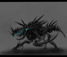 Sovereign Swarm Hive Guardian Concept by SwarmCreator