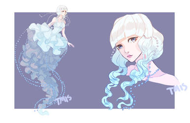 [Auction] Mermay Adopt Day 06 [Jellyfish] CLOSED by Tmis-Adopts