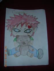 Gaara's Teddy Bear by FurryForLife214