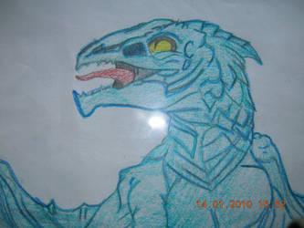 Blue Dragon by FurryForLife214