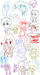 Oodles of doodles 5 by Hi3ei