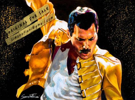 Freddie Mercury by SoulShapedFace