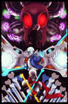 Battle of skeletons by Miyuki-fanarts