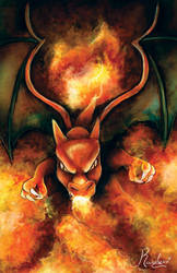 Charizard by Ranelynn