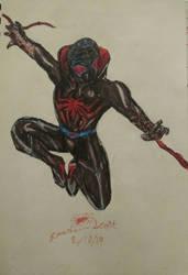Detroit Spiderman by SpiderSilk15