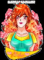 Happy Birthday bubblegum-girl! (2) by Scarletu-Rozu