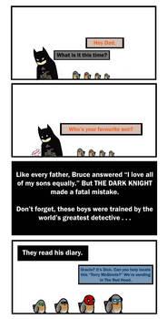 Bat Family: The Favourite by CrimsonHorror