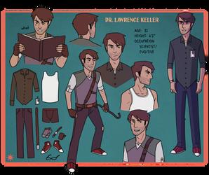 Keller Character Sheet by Teslaverian