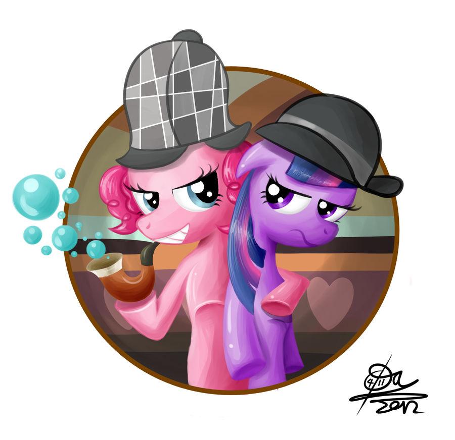Sherlock Pinkie by otlstory