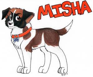 Meet Misha by seynadarkwolf