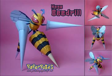 Mega Beedrill by Olber-Correa