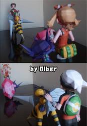 Pokemon ORAS battle by Olber-Correa