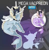 Mega Vaporeon by Natx-chan