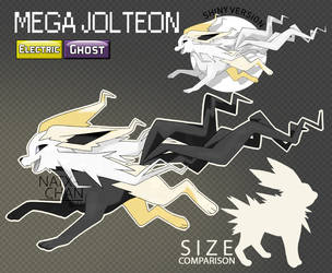 Mega Jolteon by Natx-chan
