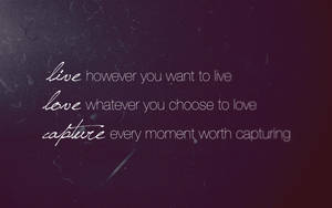 LIVE LOVE CAPTURE by Affect-The-World