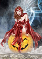 Scarlet Witch Commission by voltesfibz