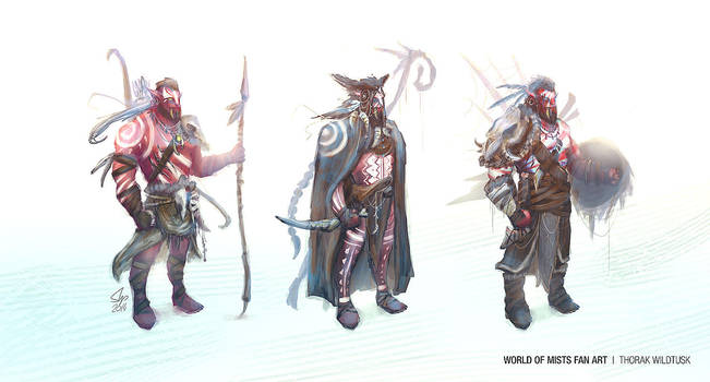 Thorak Wildtusk Concept by slipled