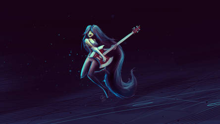 Marceline the Vampire by slipled