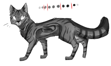 Greyscale Kitter by Pepperjay