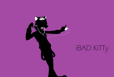 iPod -  BAD KiTTy by StygianRecluse