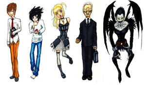 Map and Key Death Note by StygianRecluse