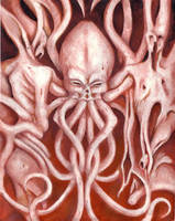 Cthulu by WithinDreams