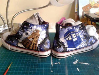 DR Who Shoes by Gorfuru