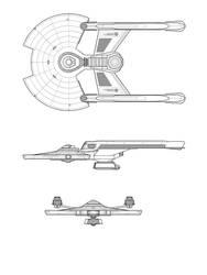 Destroyer Frigate by Keiichi-K1