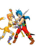 Fight at Corsair by Keiichi-K1