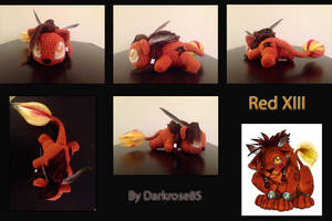 Red XIII (Nanaki) by PlushAndStuff