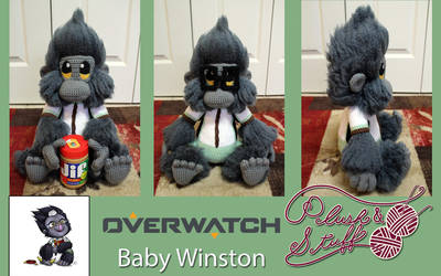 Baby Winston by PlushAndStuff