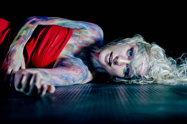 Lilly bodypaint 3 by edgardRobertson