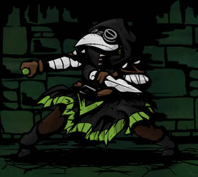 Plague Doctor by THEpinknekos