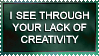 Lack of Creativity by EpicStamps