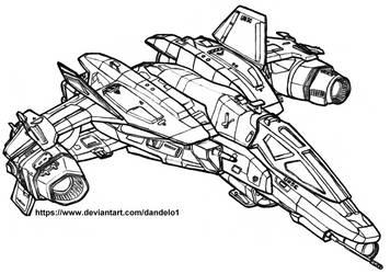 YSS-1000 (Sabre) by Dandelo1