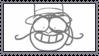 Dick Figures stamp: Earl Grey by PeroFan