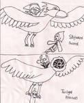 BIRDIES!!! by MidnaCookies1425