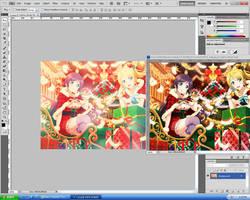 Blend #3 : NozoEli by Chiruka-Aka-Ritsuko