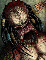 Predator Face by Vandadocomics by Ronniesolano